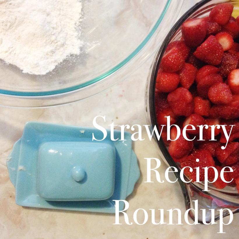 Strawberry Recipe Roundup from Meridith Creates